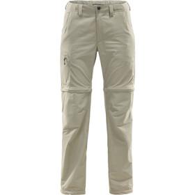 Haglöfs Lite Pantalon convertible par zip Femme, lichen
